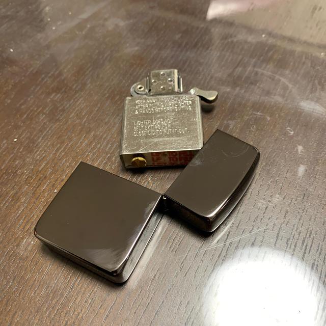 ZIPPO(ジッポー)のZIPPO zippo ライター タバコ 煙草 宇宙 スペースシャトル メンズのファッション小物(タバコグッズ)の商品写真