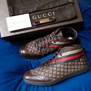 グッチ(Gucci)のGUCCI❇️シェリーライン 本革スニーカー(スニーカー)