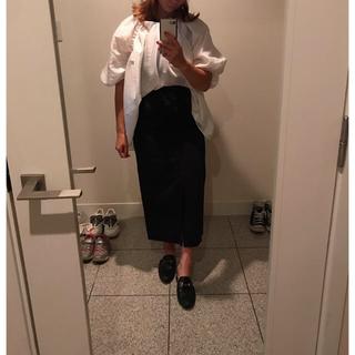 Ron Herman - ebure  2018SS コットンリネンタイトスカート