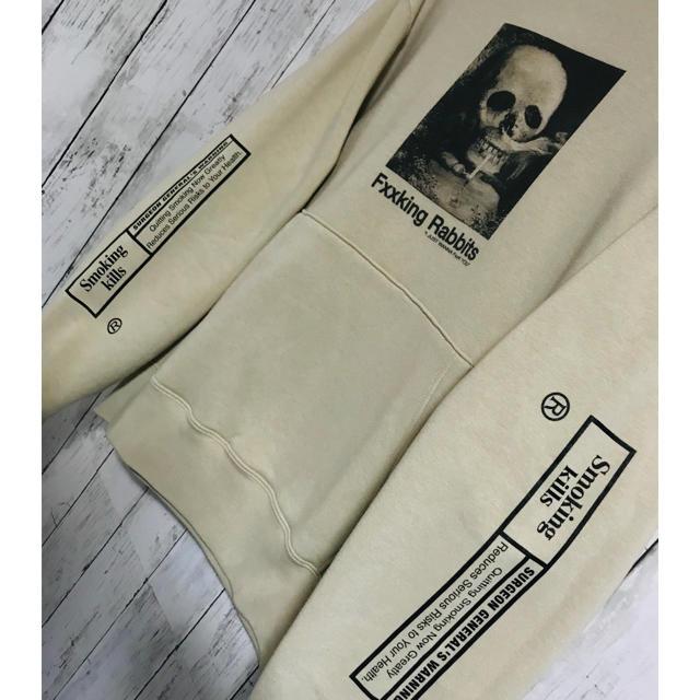 OFF-WHITE(オフホワイト)の発掘喫煙芸術。廃盤FR2パーカースモーキングキルズ 論理 XLARGE ASSC メンズのトップス(パーカー)の商品写真