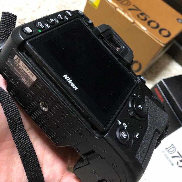 Nikon(ニコン)のD7500 sigma18-250mm f3.5-6.3 スマホ/家電/カメラのカメラ(デジタル一眼)の商品写真