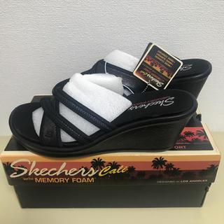 SKECHERS - 日本未発売 スケッチャーズ  厚底 サンダル 24センチ