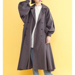 merlot - merlot  volume sleeve trench coat
