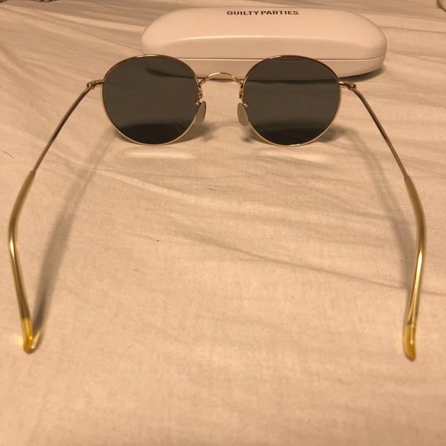 WACKO MARIA(ワコマリア)のWACKO MARIA ✖️ 金子眼鏡 ボストン メンズのファッション小物(サングラス/メガネ)の商品写真