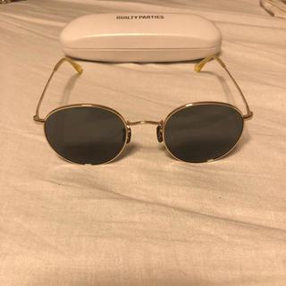 ワコマリア(WACKO MARIA)のWACKO MARIA ✖️ 金子眼鏡 ボストン(サングラス/メガネ)