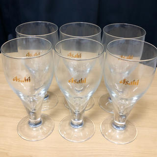 アサヒ(アサヒ)の【新品未使用】アサヒ グラス 6個セット(グラス/カップ)