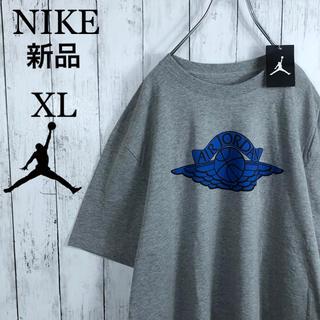 ナイキ(NIKE)の【新品未使用】【2012年製】 ナイキ ジョーダン ウイング Tシャツ XL 灰(Tシャツ/カットソー(半袖/袖なし))
