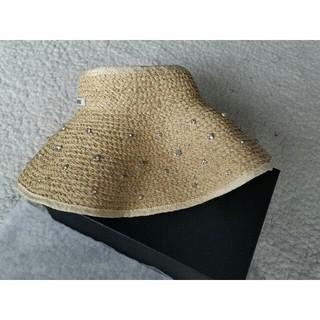 miumiu - 夏大人気Miumiuミュウミュウ ハット麦わら帽子  レディース