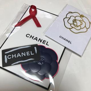 シャネル(CHANEL)のシャネルブックマーク&カメリアシール3品セット(しおり/ステッカー)