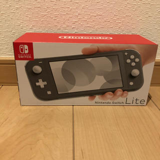Nintendo Switch - 新品未開封Nintendo Switch Lite グレー