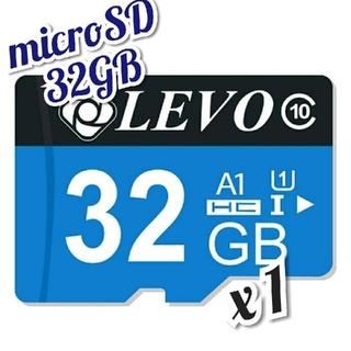microSD カード 32GB 1枚 CLASS 10 UHS-I LVBU(その他)