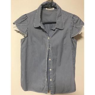 スーツカンパニー(THE SUIT COMPANY)の半袖ブラウス 4枚セット ストライプ レディース スーツ(シャツ/ブラウス(半袖/袖なし))