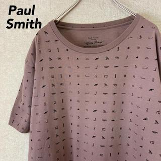 ポールスミス 半袖 Tシャツ 古着 総柄 メンズ レディース L