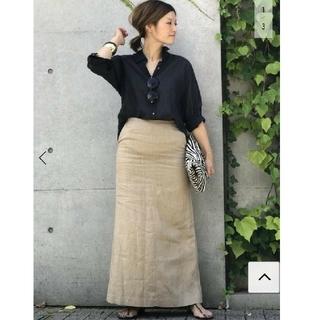 DEUXIEME CLASSE - 新品☆ ドゥーズィエムクラス Linen Slit スカート