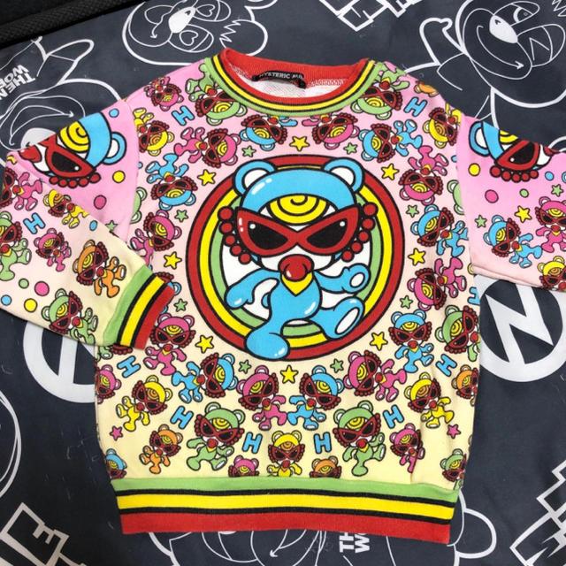 HYSTERIC MINI(ヒステリックミニ)のヒステリックミニ テディ トレーナー キッズ/ベビー/マタニティのキッズ服男の子用(90cm~)(Tシャツ/カットソー)の商品写真