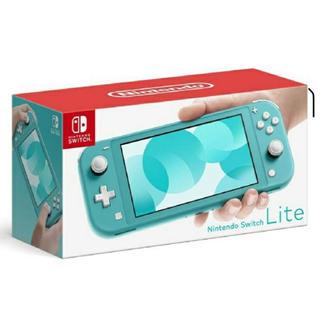 Nintendo Switch - 【新品・未開封】任天堂 Switch lite light ターコイズ