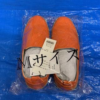 ブラウニー(BROWNY)の新品 BROWNY ジュートソールスリッポン  オレンジ 靴(スリッポン/モカシン)