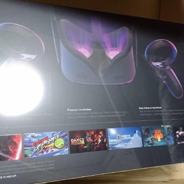 新品 正規品 オキュラスクエスト 64GB oculus quest  スマホ/家電/カメラのPC/タブレット(PC周辺機器)の商品写真