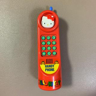 ハローキティ(ハローキティ)の喋るハローキティ 携帯電話 おもちゃ(知育玩具)