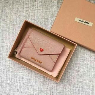 miumiu - MIUMIU 財布 折り財布 ミニ財布 オシャレ レディース