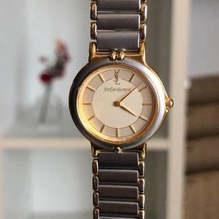 イヴサンローランボーテ(Yves Saint Laurent Beaute)の美品 イヴサンローラン腕時計 レディース 稼働中(腕時計)