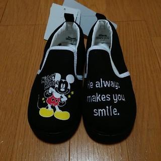 Disney - ミッキー スリッポン 子供靴