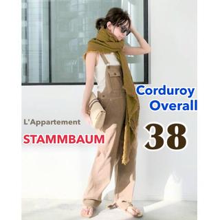 L'Appartement DEUXIEME CLASSE - 【STAMMBAUM/シュタンバウム】Corduroy Overall 38
