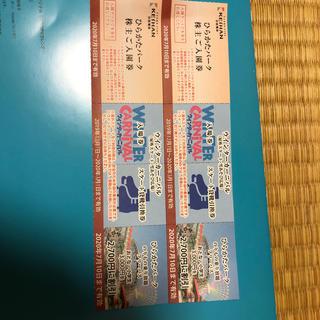 ひらパー【pink*rose 様専用】入園券 フリーパス割引き券 2枚(その他)