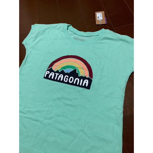 patagonia(パタゴニア)のパタゴニア キッズ Tシャツ sサイズ キッズ/ベビー/マタニティのキッズ服女の子用(90cm~)(Tシャツ/カットソー)の商品写真