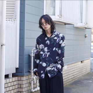 LAD MUSICIAN - 【人気完売品】LAD MUSICIAN 花柄 スタンダードシャツ