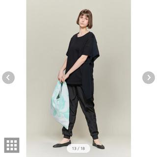 エムエムシックス(MM6)のMM6  MAISON MARGIELA  バックドレープTシャツ(Tシャツ(半袖/袖なし))