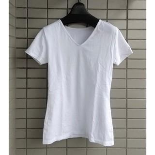 アンタイトル(UNTITLED)のアンタイトル VネックTシャツ カットソー Sサイズ(Tシャツ(半袖/袖なし))