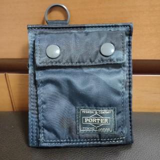 ポーター(PORTER)のPORTER ポーター タンカー30周年 財布 ウッドランドネイビー 迷彩(折り財布)