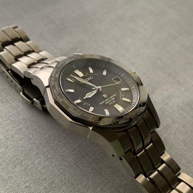 SEIKO(セイコー)の定価120,000円 セイコー ブライツ SAGZ007 ソーラー電波時計 メンズの時計(腕時計(アナログ))の商品写真