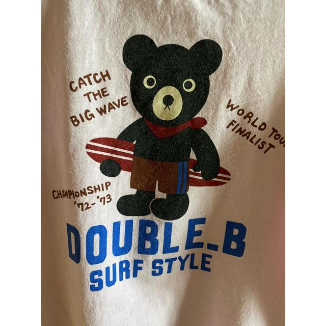 DOUBLE.B(ダブルビー)のダブルB キッズ/ベビー/マタニティのキッズ服男の子用(90cm~)(Tシャツ/カットソー)の商品写真