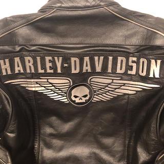 Harley Davidson - HARLEY-DAVIDSONハーレーダビットソンレザージャケットプロテクター付