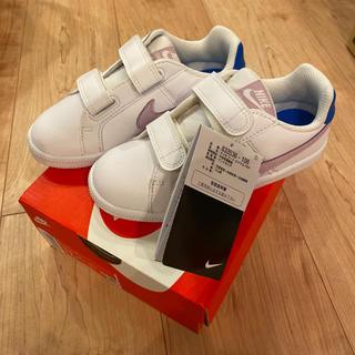 ナイキ(NIKE)のNIKE ナイキ コートロイヤル スニーカー 靴 キッズ 新品 17㎝(スニーカー)