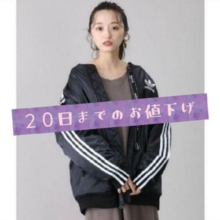 adidas - adidas★LONG BOMBER JACKET/ロング ボンバージャケット