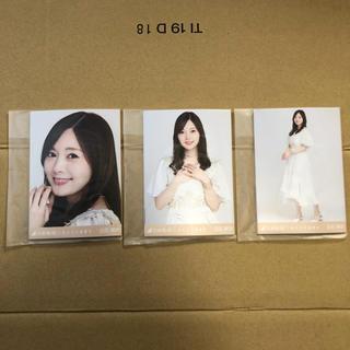 乃木坂46 - しあわせの保護色 生写真 5枚×5セット 白石麻衣 コンプ