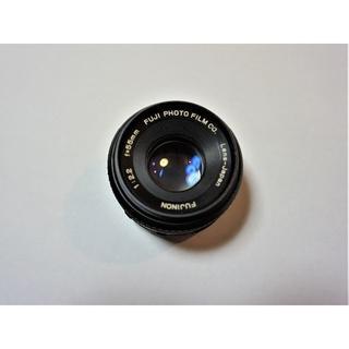 フジフイルム(富士フイルム)のバブルボケレンズ FUJINON 55mm F2.2(レンズ(単焦点))