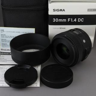 SIGMA - シグマ キヤノンEF用30mm F1.4DC(A)