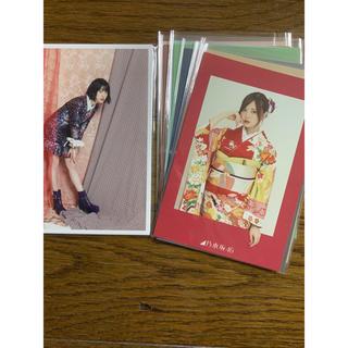 ノギザカフォーティーシックス(乃木坂46)の乃木坂46 カレンダー特典 ポストカード 2018 2019 24枚(アイドルグッズ)