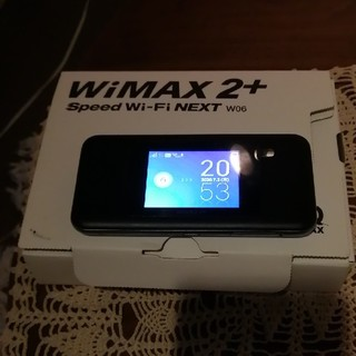 Speed Wi-Fi NEXT W06 HWD37(その他)