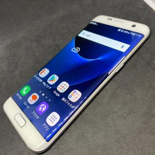 Galaxy - 美品 SIMフリー SCV33 ホワイトパール Galaxy S7 edge