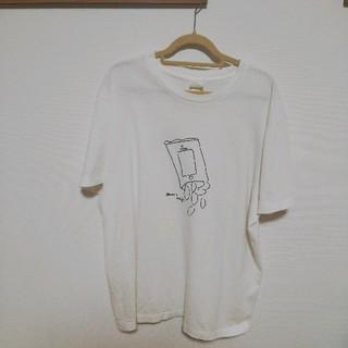 ヤエカ(YAECA)のヤエカ デザインTシャツ(Tシャツ(半袖/袖なし))