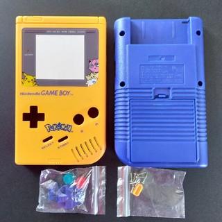 ゲームボーイ(ゲームボーイ)の初代ゲームボーイ ゲームボーイ 新品外装 シェルケース ポケモンスクリーン(携帯用ゲーム機本体)