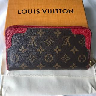 LOUIS VUITTON - ルイヴィトン 財布 ジッピーウォレット レティーロ 赤 M61854