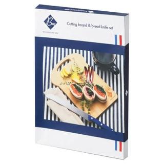 カッティングボード & ブレッドナイフ セット(調理道具/製菓道具)