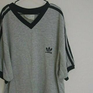 アディダス(adidas)の【アディダスオリジナルス】激レア! ヴィンテージ ロゴ Tシャツ(Tシャツ/カットソー(半袖/袖なし))