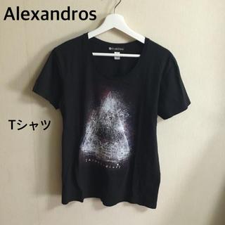 ラッドミュージシャン(LAD MUSICIAN)の【美品】Alexandros バンドTシャツ 黒(Tシャツ/カットソー(半袖/袖なし))
